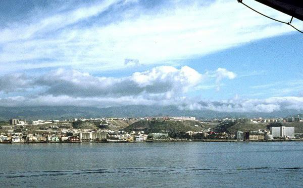 Las palmas 1 - Planter uitzicht op de baai ...